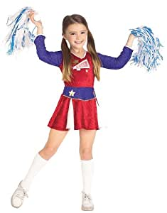 Cheerleader Costume - Retro Cheerleader Kids Costume WB