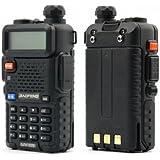BaoFeng UV5R Dual-Band Two-Way Radio, Black