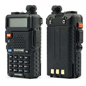 BaoFeng UV-5R 136-174/400-480 MHz Dual-Band DTMF CTCSS DCS FM Ham Two Way Radio
