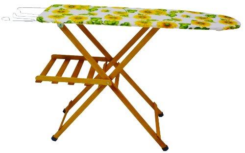 Asse tavola da stiro in legno di faggio noce - Tavola legno lamellare faggio ...