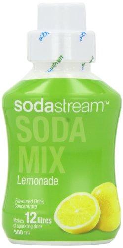 Sodastream Flavouring Syrup Lemonade 500 ml Bottle (Pack of 6)