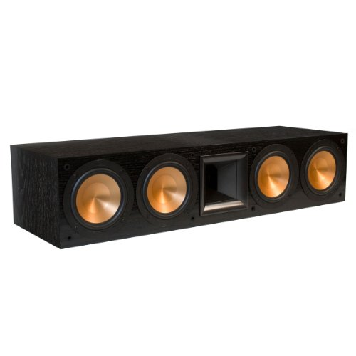 Klipsch RC-64 II Center Channel Speaker - Black (Klipsch Rc 64 Ii compare prices)