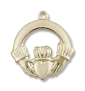 14kt Gold Claggagh Medal