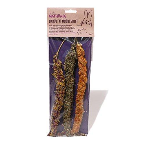 rosewood-boredom-breaker-natural-treats-crunch-n-munch-millet-3-per-pack-pack-of-4