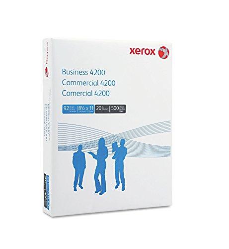 Xerox 4200 Business Multipurpose White Paper, 92 Bright, 8-1/2 X 11, 10 Reams/Carton (XER3R2047)