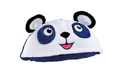 Bright Eyes Blanket , Blue Panda - 1