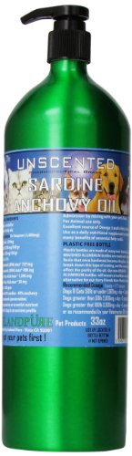 Iceland Pure Unscented Pharmaceutical Grade Sardine Anchovy Oil For Dogs and Cats.Bottle Size 33oz (Fish And Cat compare prices)