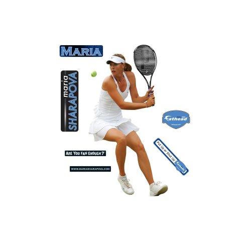 Maria Sharapova Player Wall Decal Fathead Wall Stickers & Murals autotags B001GAPTWM
