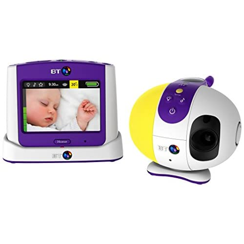 <strong>BT Video <strong>Baby Monitor 7500 Lightshow