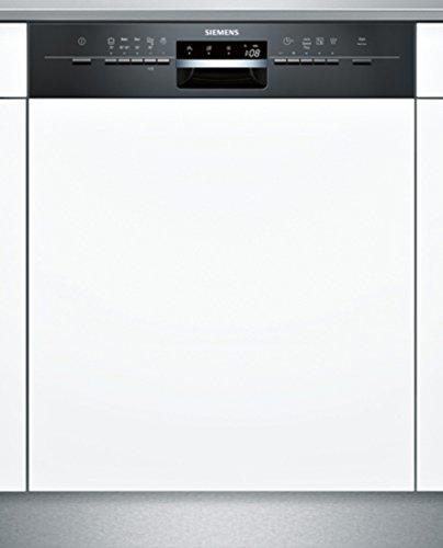 Siemens-SN55L632EU-Semi-built-in-12places-A-Noir-Blanc-lave-vaisselle-laves-vaisselles-Semi-intgr-A-A-Noir-Blanc-boutons-Auto-45-65-C-conomie-Intensif-Pr-lavage