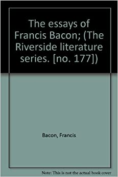 Francis bacon the essays penguin
