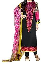 Krishma Print Color Cotton Printed Dress Material