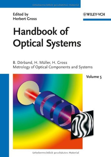 Metrology Of Optical Components And Systems (Handbook Of Optical Systems, Vol. 5)