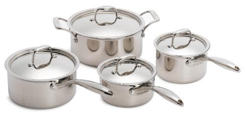 Paderno Fusion 5 8-Piece Cookware Set