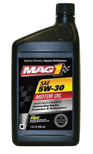 Mag 1 61652 6pk 5w 30 api sngf 5 ec motor oil 1 quart for Where to buy motor oil