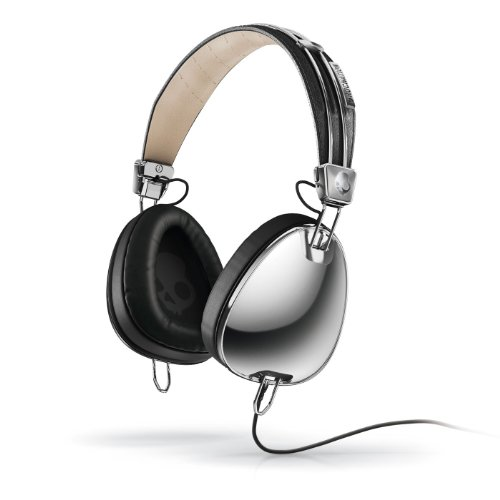 Skullcandy Aviator Headphones (Chrome)
