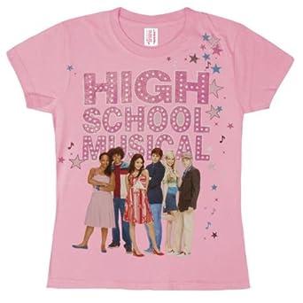 High School Musical - Girls Schools Out Girls Youth T-shirt X-small Light Pink