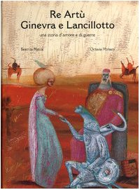 Cover Re Artù Ginevra e Lancillotto