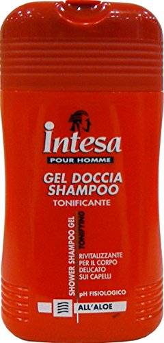 12 x INTESA Doccia Shampoo Gel All'Aloe 250 Ml