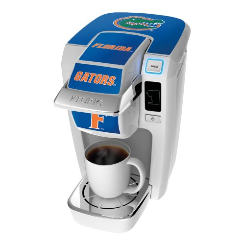 Keurig K10 White Mini Plus Single Cup Personal Brewer With University Of Florida Decal Kit front-584664