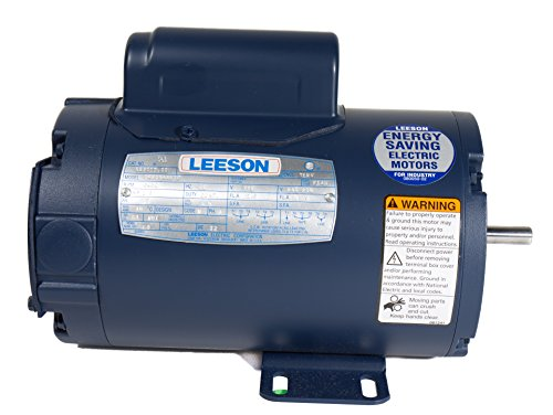 leeson-12100300-general-purpose-odp-motor-3-phase-143t-frame-rigid-mounting-1hp-1800-rpm-208-230-460