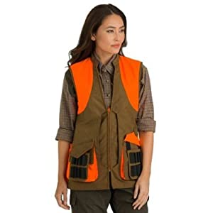 Amazon.com : Beretta Women's Wax Cotton Upland Vest, Small : Sports