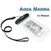 CASE FACTORY 防水ケース AQUA MARINA for iPhone6(4.7)/5s/5c/5,GALAXY S5/4/3/Note3,Xperia Z2/1,ARROWS X 防水性能【IPX8】ネックストラップ...