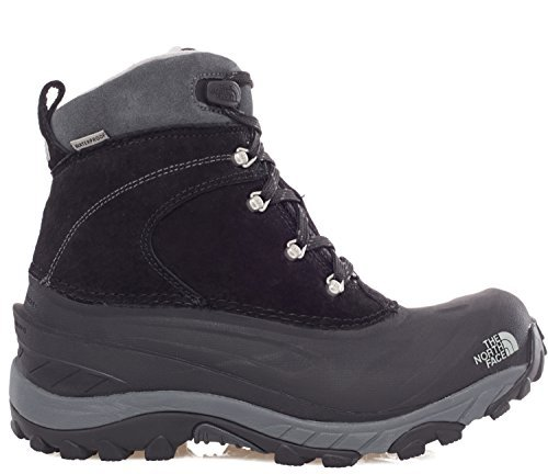 The North FaceChilkat Ii - Stivali da Neve Uomo , (Black/Griffin Grey), UK 9 (43 EU)