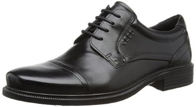爱步ECCO Men's Dublin Cap 男士系带正装牛津皮鞋 $115