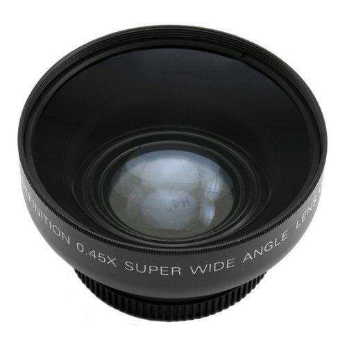 Fotga 43mm 0.45x Objectif Grand Angle avec Macro Conversion pour Appareil Photo Numérique Camcorder