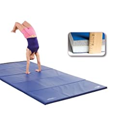 Buy GSC Ultimat Polyethylene Folding Mat With Velcro On All Sides - 6 x 12 Foot by Athletic Connection