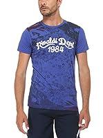 Rivaldi Camiseta Manga Corta Mentalsy (Azul / Negro)
