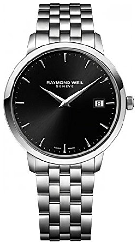 Raymond Weil Toccata  5588-ST-20001 23mm Steel Bracelet & Case Anti-Reflective Sapphire Men's Watch