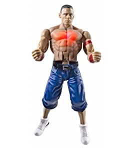 Amazon.com: WWE Flexforce Fist Poundin John Cena Figure: Toys & Games