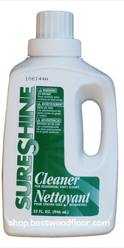 SURESHINE Vinyl Floor Damp Mop Cleaner & Stripper 32 oz.