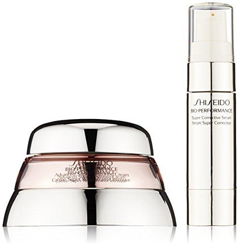 Shiseido Bio-Performance - Set regalo Donna, incl. Crema anti-età Advanced Super Restoring, 50 ml, e siero correttore, 9 ml