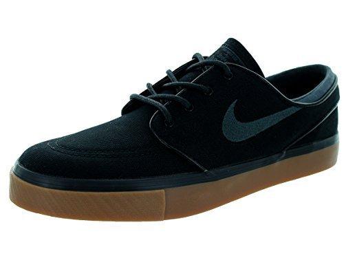 Nike Men's Zoom Stefan Janoski Black/Anthracite/Gum Med Brown Skate Shoe 10.5 (Stefan Janoski Nike Shoes compare prices)