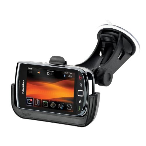 IGrip PerfektFit Charging Dock - Cellular phone charger/holder for car - BlackBerry Torch 9800