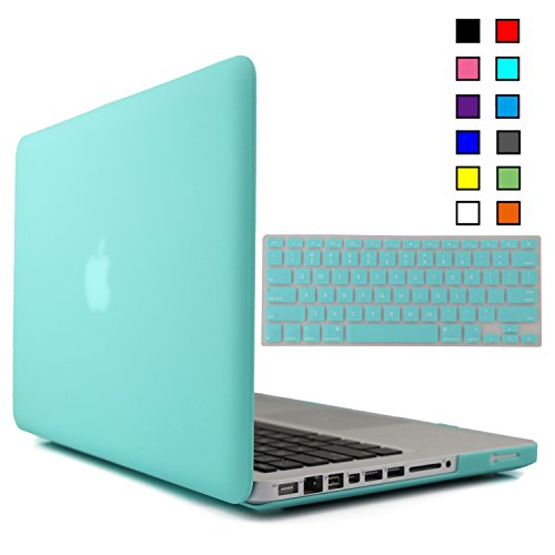For Sale! iBenzer® - 2 in 1 Multi colors Soft-Touch Plastic Hard Case Cover & Keyboard Cover fo...