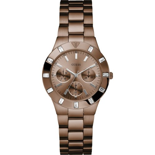 Guess W17005L1 Ladies GLISTEN Bronze Tone Watch