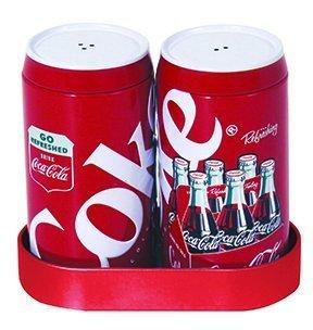 Coca Cola Salt and Pepper Shakers Set