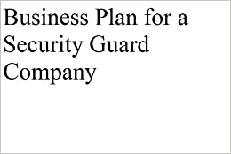 Business plan security company