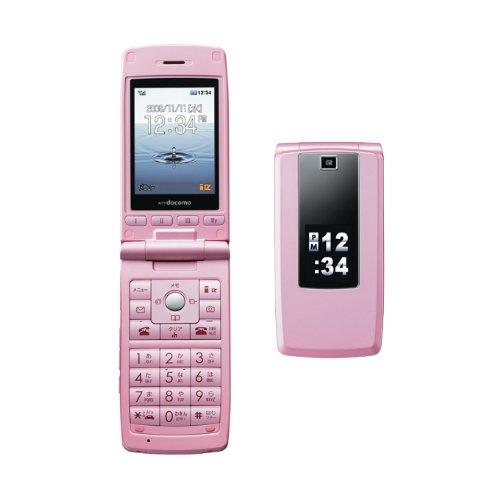SIMフリー・モバイル出品FOMA LG L-03A珍しGPS無 簡単携帯SIMロック解除済み (ライトピンク)