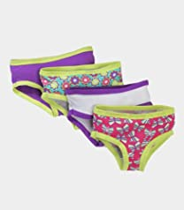 Fruit of the Loom Girls' 12pk Cotton Hipster