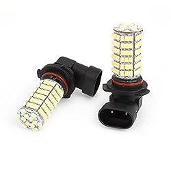 See Car 9006 1210 120 SMD LED White Head Light Daytime Bulb Lamp 12V 2 Pcs Details