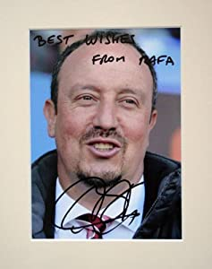 Rafa Benitez Chelsea And Liverpool Fc Signed Autograph Photo Print In Mount