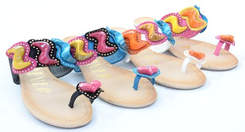 Funky Wedge Sandals front-996588