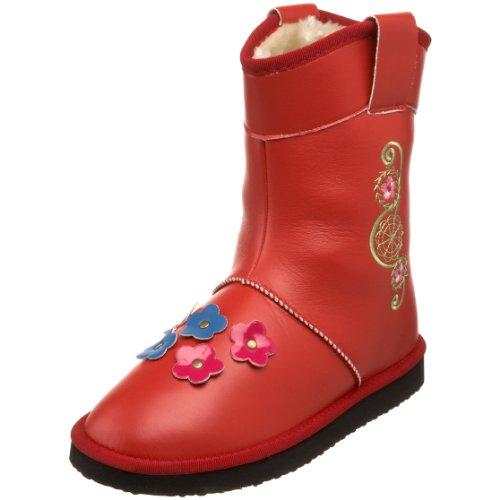 woolenstocks Women's Cowboy Woogos Faux Fur Boot