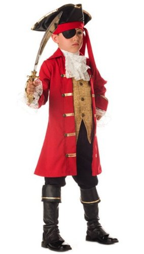 Super Deluxe Pirate Captain Costume - Child Size 4