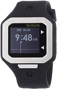 Nixon Supertide Black Dial Men's Watch